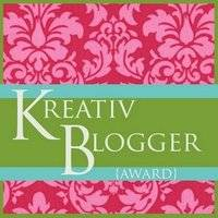 Kreative blogger award new