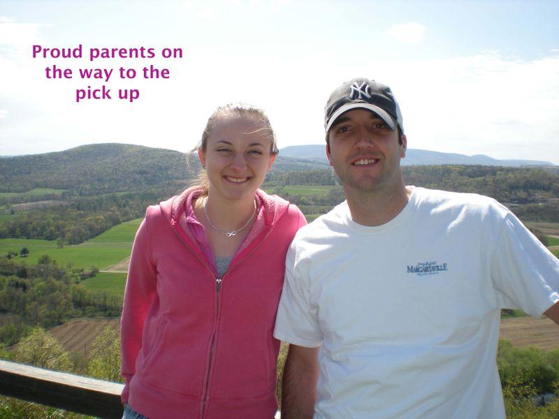 Proud parents